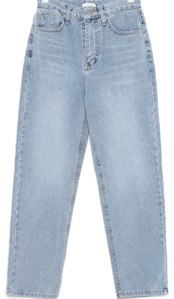 saver napping straight denim pants