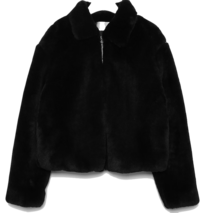 soft fur short jacket