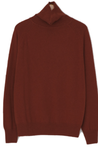 Soft Cashmere Turtleneck Knit-knit
