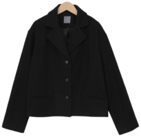 Comme wool short jacket_A (size : free)