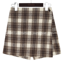 LATVIA BANDING WRAP PANTS SKIRT