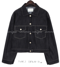 VEIN SET-UP COTTON JACKET - 2 TYPE