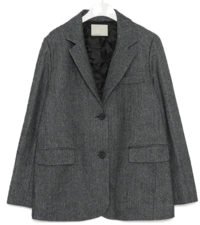 mose wool napping herringbone jacket