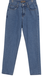 Slim washing denim pants_H
