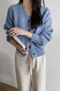 Urban smooth knit cardigan *