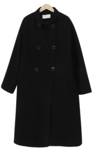 Drow wool long coat_A (size : free)