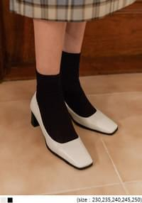 LIONIN BASIC SQUARE HEEL