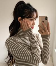 Bonbon Stripe Polar Knit