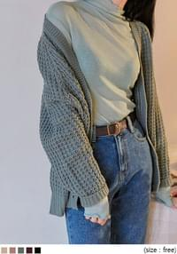 WAINES V NECK KNIT CARDIGAN