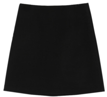 Denny Wool Mini Skirt