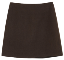 Denny Wool Mini Skirt skirt