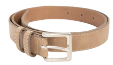 ESSAYSquare Buckle Leatherette Belt