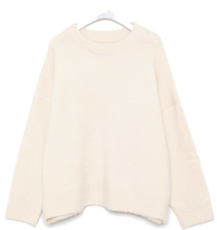 a wearable wool round knit