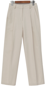 Today pin-tuck cotton pants_U (size : S,M)