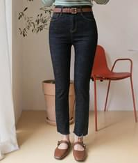537 indigo slim denim pants