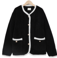 Prem round button jacket_P (size : free)