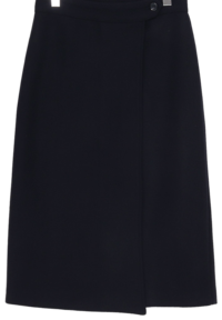 Wool wrap long skirt_H (size : free)