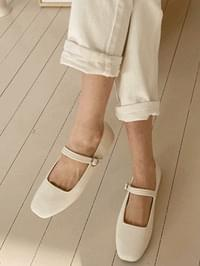 Cream Mary Jane Shoes