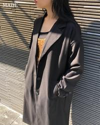 Daily Chic Long Single Jacket