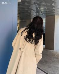 Charming Single Trench Coat