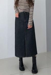 Riva long dough skirt