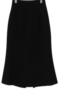 Gloss slit long skirt_U