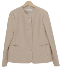 Lave round wool jacket_H (size : free)
