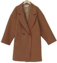 Tom boxy wool coat_H (울 10%) (size : free)