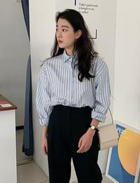 Liner loose stripe shirts_C