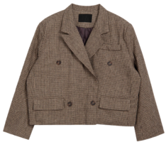 Classic Short Check Jacket