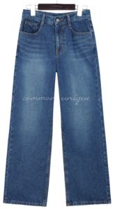 HOKI WASHING WIDE DENIM PANTS jeans