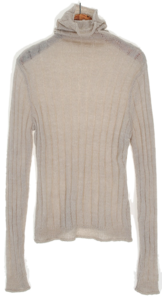 See-through Corrugated Polar Knit