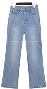 PONELL STRAIGHT DENIM PANTS jeans