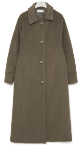 ray ladyish napping long coat