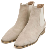 tin shape sheepskin ankle boots
