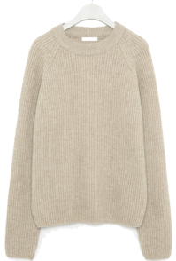 the golgi round wool knit