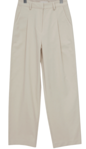 Dust cotton pintuck pants_C (size : S,M)