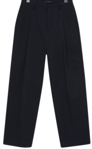 Dust cotton pintuck pants_C