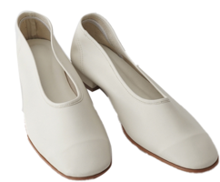 basic round middle flat shoes 平底鞋