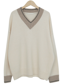 Ven v-neck wool knit_C (울 70%) (size : free)