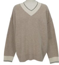 Ven v-neck wool knit_C (size : free)