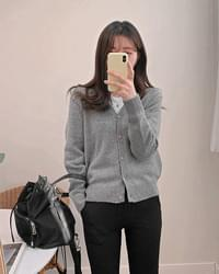Terra Wool knit cardigan-4color