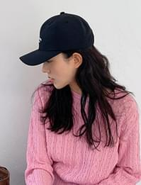 Newyork simple ball cap_C (size : one)