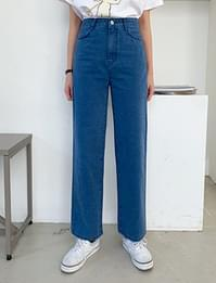 Wide simple cotton pants_C