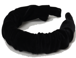 Velvet shirring hair band_C (size : one)