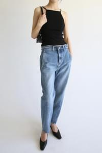 straight cool denim pants