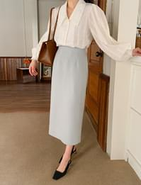 Page simple long skirt_C