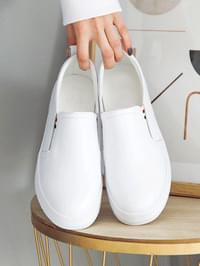 Hapien Leather Tall Slip-on 5cm