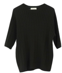tension twist half sleeve knit (4colors)