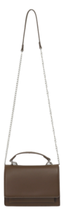 Silver chain cross bag_U 肩背包